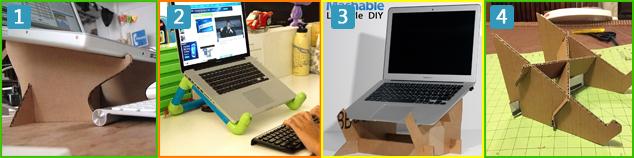 4 DIY laptopstandaarden