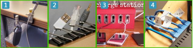 4 doe-het-zelf oplosingen om kabels weg te werken