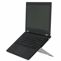 R-Go Riser Attachable laptopstandaard zilver