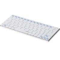 Rapoo E6300 wit bluetooth tablet mini toetsenbord