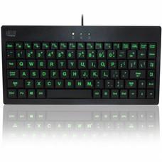 Adesso SlimTouch 110 - 3-Color Illuminated compact toetsenbord