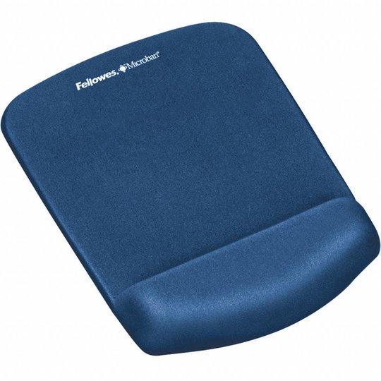 Fellowes PlushTouch™ muismat polssteun blauw