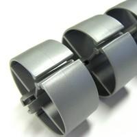 Ergopro Ronde Kabelslang + voet zilvergrijs