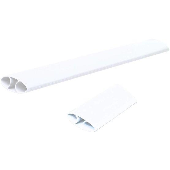 Fellowes I-Spire Series flexibele polssteun voor muis en toetsenbord wit