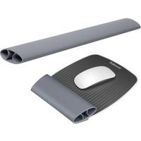 Fellowes I-Spire Series flexibele muismat met polssteun voor muis en toetsenbord grijs
