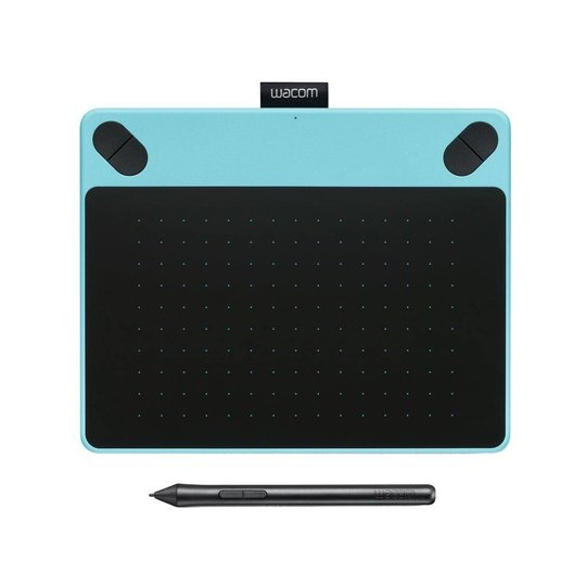 Wacom Intuos Comic Pen & Touch Small tekentablet Blue