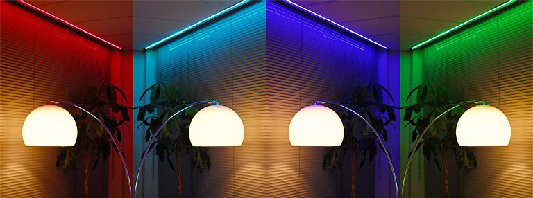 Applamp wifi kit multicolor led strip rgb 5m applamp what controls provides applamp aloadofball Gallery