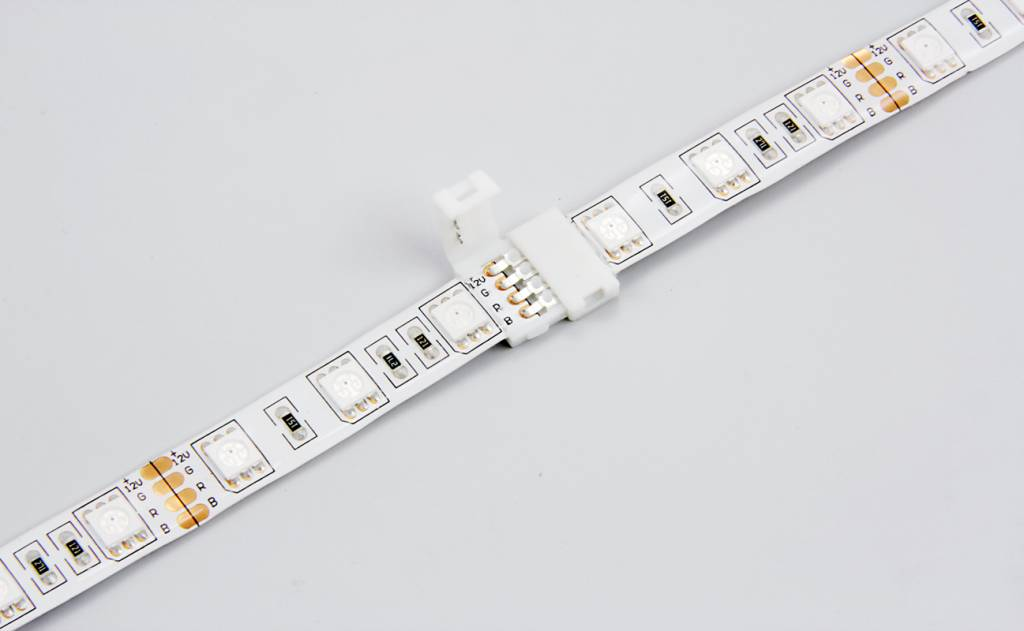 RGB LED strip koppelstuk, soldeer-vrij