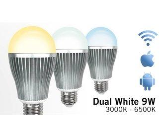 Mi-light 9W Dual White E27 Wifi LED Lamp