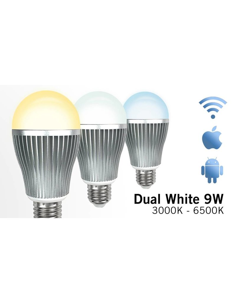 dual white wifi led lamp 9w applamp wi fi led verlichting. Black Bedroom Furniture Sets. Home Design Ideas