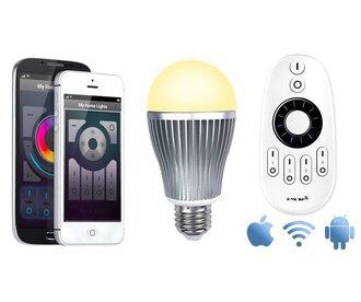 Mi-light 9W Dual White E27 Wifi LED Lamp Starterskit