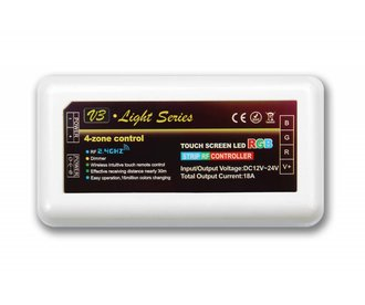 Mi·Light Wifi RGB LED strip controller 3x6A, RF draadloos te bedienen, zonder toebehoren