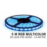 AppLamp RGB LED strip 5 meter, 300 leds type 5050 12V (IP65)