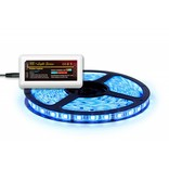 RGB LED strip 5 m. 300 leds met RGB controller en 6A adapter