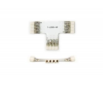 RGB 4-pin T-connector female