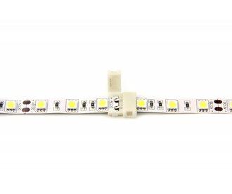Witte LED strip koppelstuk, soldeervrij