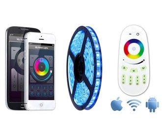 Wifi APP kit + Full Color RGB LED strip