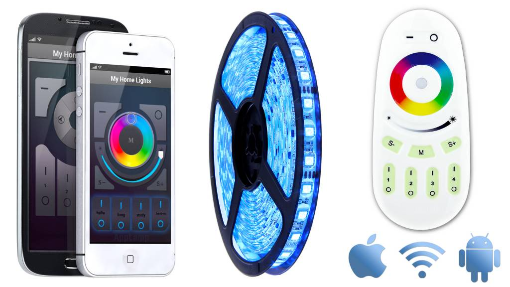 Mi·Light Wifi APP kit + Full Color RGB LED strip