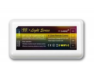 Dual White LED strip controller 12A, 12V-24V (LOS)