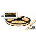 Mi·Light Dimbare LED strip set Warm Wit 5 m. 300 leds 72W (uitbreiding)
