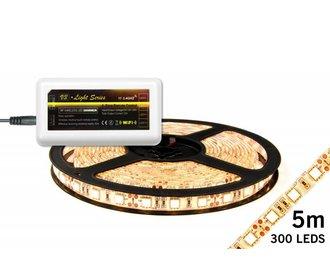 Mi·Light LED strip set Warm Wit 300 leds 72W 12V 5M (uitbreiding)