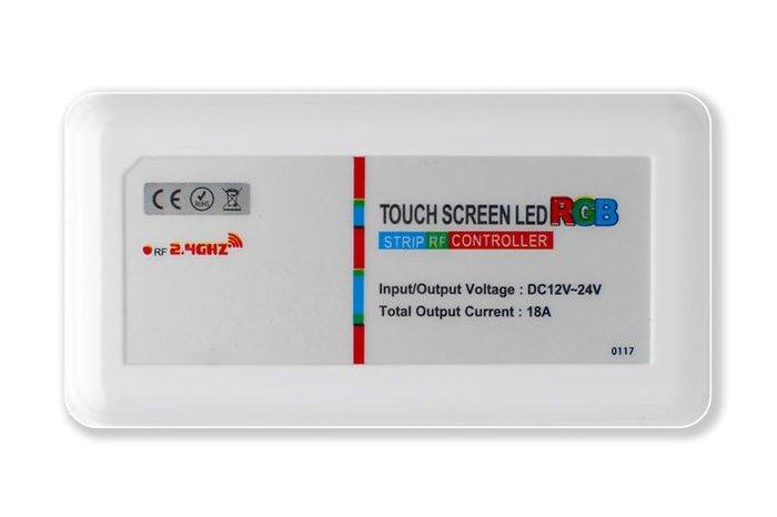 Mi·Light RF RGB ledstrip controller met RF afstandsbediening 18A