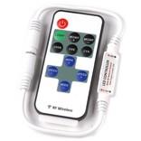 Mini LED strip dimmer met RF afstandsbediening voor witte LED strip, 6A
