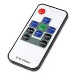 Mini RGB LED controller met RF afstandsbediening, 12A max, 5V-24V