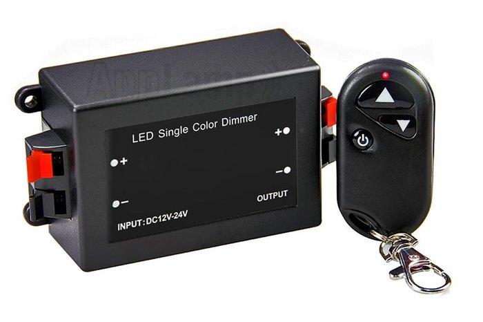 Car Key Led Dimmer met RF autosleutel afstandsbediening, 8A, 12V-24V