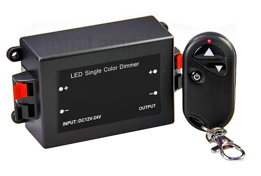 Car Key Led Dimmer met RF Key Remote, 8A, 12V-24V