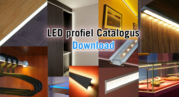 Aluminium LED profielen catalogus download