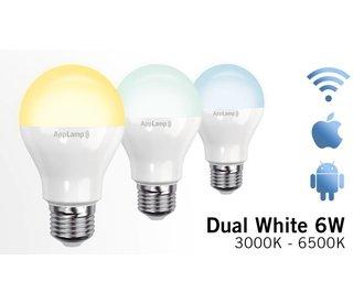 Mi-light 6W Dual White E27 Wifi LED Lamp