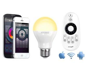 Mi-light 6W Dual White E27 Wifi LED Lamp Starterskit