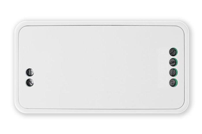 LEDstrip set Warm Wit dubbele rij, 600 leds type 5050, 12V 5M met RF afstandsbediening