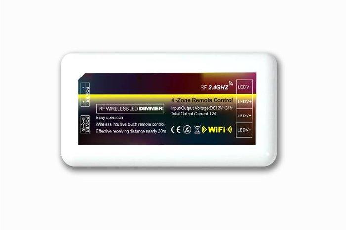 Extra Warm Witte LED strip met 600 type 3528 leds 48W 12V 5M - Uitbreidingsset