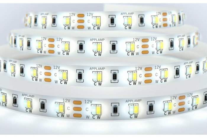 Mi·Light Dual White LED strip set 600 leds Variabele kleurtemperatuur 72W 12V - Uitbreidingsset