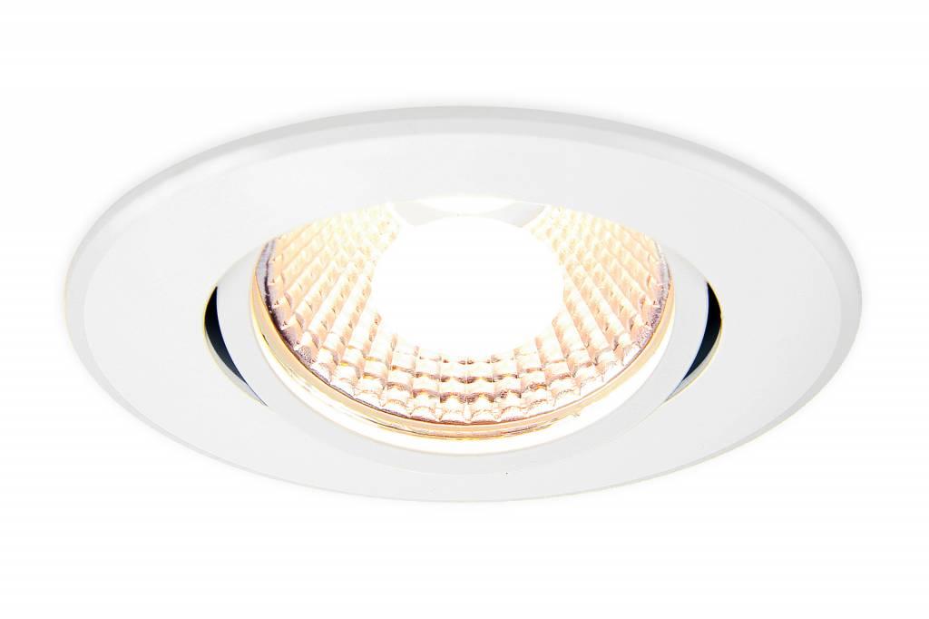 Mi·Light 6 Watt Dual White LED kantelbare Inbouwspot. Inclusief voeding/controller. 220Volt