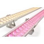 ULTRA WallWasher RGBW Kleur + Warm Wit. Slim Line 60cm dubbele rij 24V. 84 LED's. 25W
