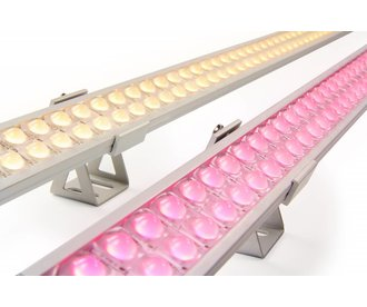 ULTRA WallWasher RGBW Kleur + Warm Wit. 30cm. 24V. 42 LED's. 12.5W