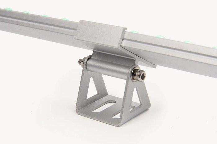 AppLamp RGBW ULTRA WallWasher Slim Line 30cm dubbele rij 24V, 42 LED's, 12.5 Watt