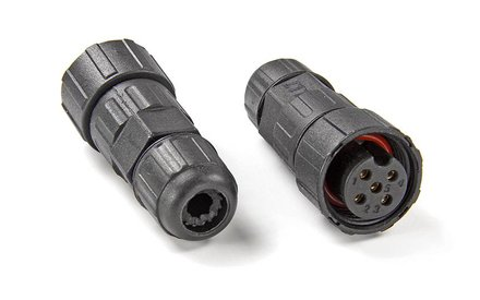 Waterdichte kabel connectors
