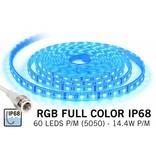 AppLamp Waterdichte RGB LED strip IP68 met 300 RGB LED's 12V, 72W, 5M