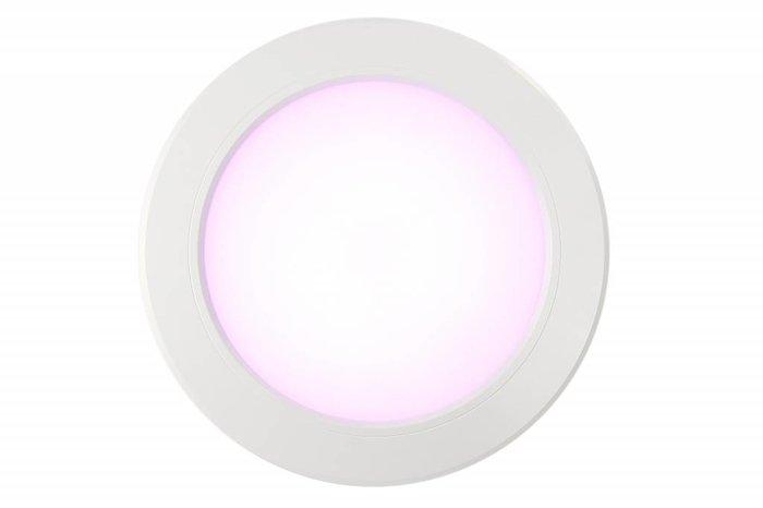 RGB kleur + Dual White 12 Watt LED inbouwspots, complete 220V sets met remote *Nieuw*