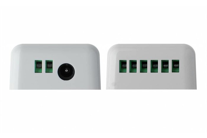 Mi·Light RF RGB Kleur+Dual White (CT) Controller *Nieuw* 5x6A 360W (los) 12-24V