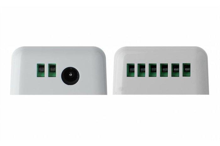 RF RGB Kleur+Dual White (CT) Controller *Nieuw* met RF afstandsbediening 5x6A