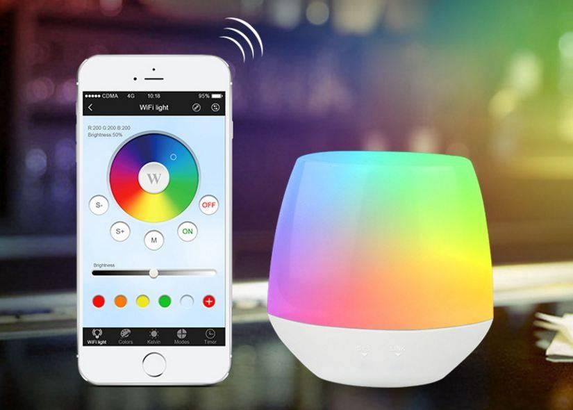 milight wifi ibox met app wifi led controller voor wifi led lampen en wifi ledstrips. Black Bedroom Furniture Sets. Home Design Ideas