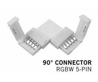 RGBW LED strip 90° hoek connector