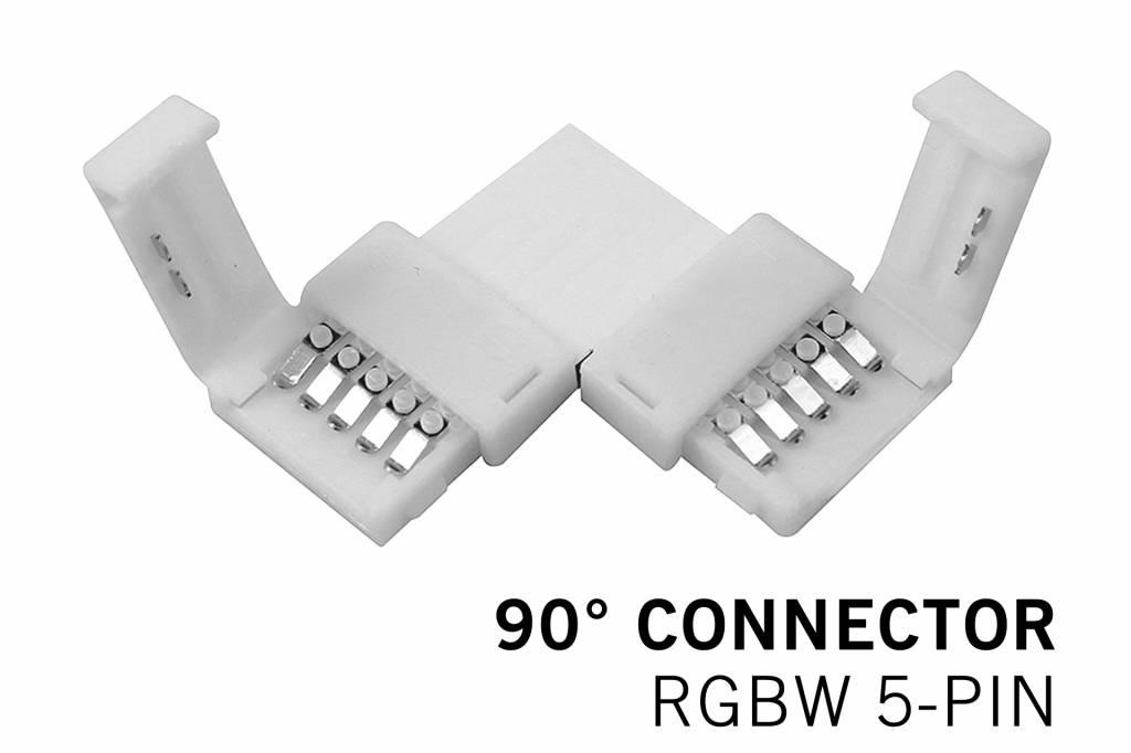 RGBW LED strip 90� hoek connector