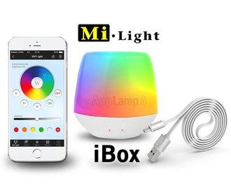 AppLamp Wifi iBox, Mi-Light IBOX V6 bridge met sfeer LED lampje