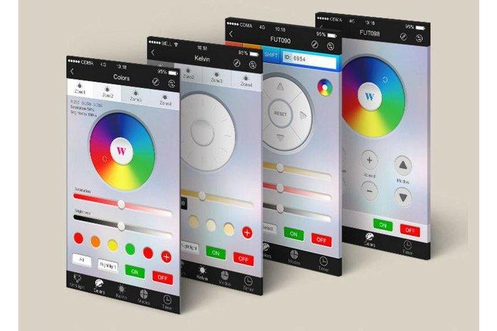 Mi·Light Wifi Box met APP: Wifi LED controller voor Wifi LED lampen en Wifi ledstrips